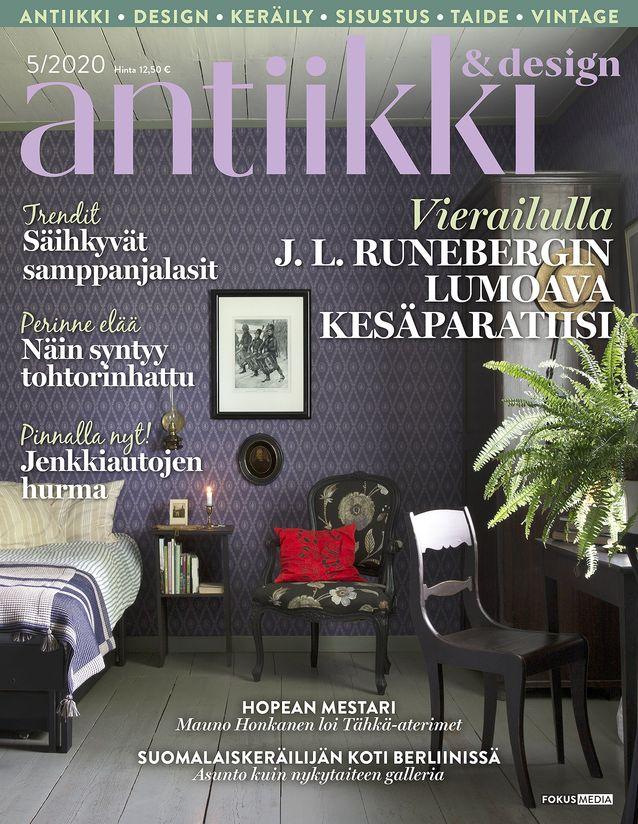 Antiikki&Design 05/2020 kirjoitti Jenni Vanhasen Taito-palkinnosta
